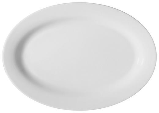SERVIERPLATTE - Weiß, Basics (32/22cm) - NOVEL