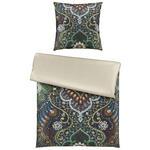 BETTWÄSCHE Makosatin Grün, Multicolor  - Multicolor/Grün, LIFESTYLE, Textil (135/200cm) - Ambiente
