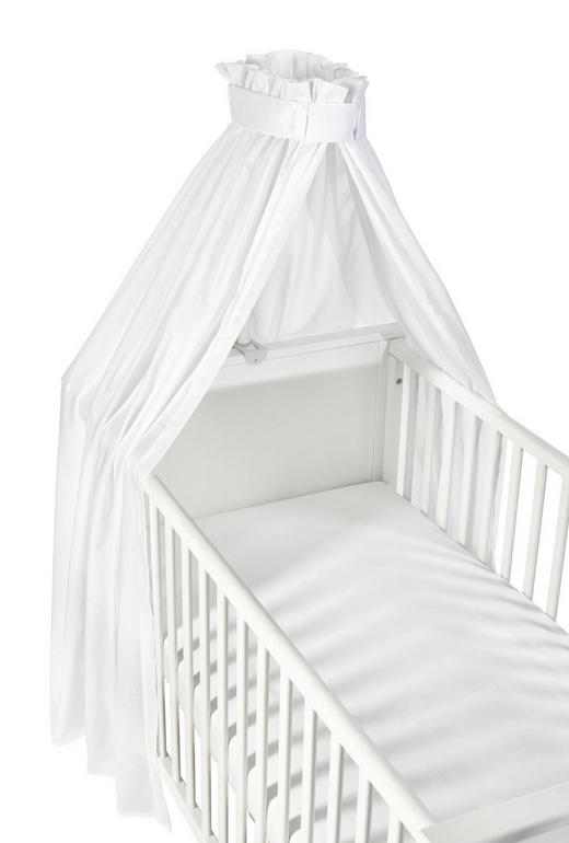HIMMEL Weiß - Weiß, Basics, Kunststoff/Textil (160/260cm) - My Baby Lou