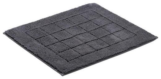 PŘEDLOŽKA KOUPELNOVÁ - tmavě šedá, Basics, textil/umělá hmota (55/65cm) - Vossen