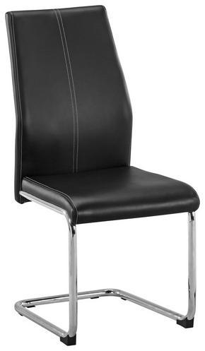 SVIKTSTOL - vit/kromfärg, Design, metall/textil (44/96/57cm) - Carryhome