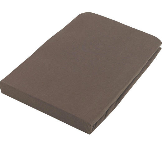 PROSTĚRADLO NAPÍNACÍ - hnědá, Basics, textilie (100/200cm) - Boxxx