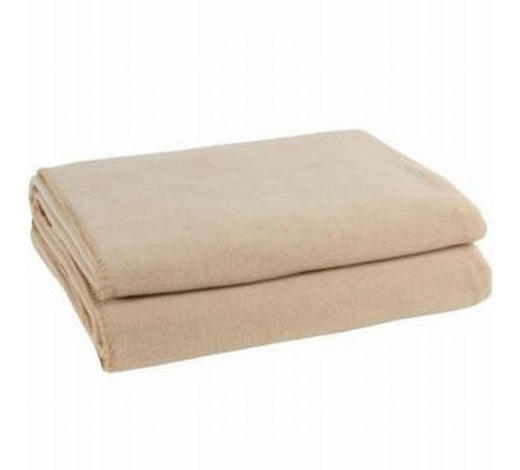WOHNDECKE 160/200 cm Sandfarben - Sandfarben, Basics, Textil (160/200cm) - Zoeppritz