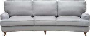 SOFFA - alufärgad/svart, Lifestyle, metall/textil (246/84/106cm) - Lerche Home