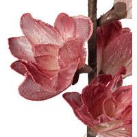 KUNSTBLUME - Pink/Rot, Basics, Kunststoff/Textil (109cm) - Ambia Home