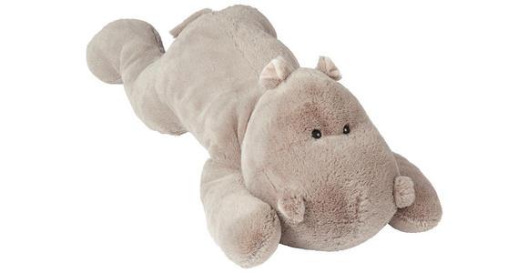 PLÜSCHTIER Hippo  - Grau, Basics, Textil (85cm) - My Baby Lou