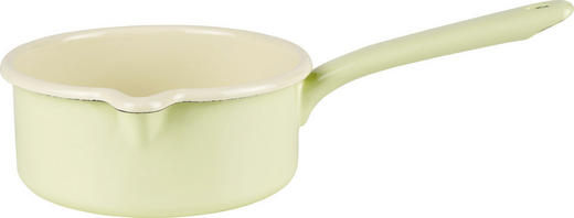 Stielkasserolle - Gelb, Basics, Metall (33/18.7/7cm) - Riess