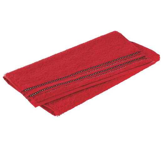 GÄSTETUCH Rot 30/50 cm  - Rot, Basics, Textil (30/50cm) - Vossen