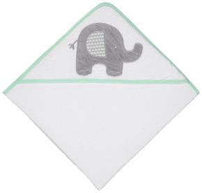BADLAKAN MED HUVA - ljusgrön/vit, Basics, textil/plast (80/80cm) - Patinio