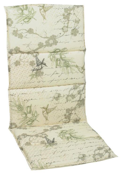 SESSELAUFLAGE Vogel - Beige, Design, Textil (50/5/120cm)