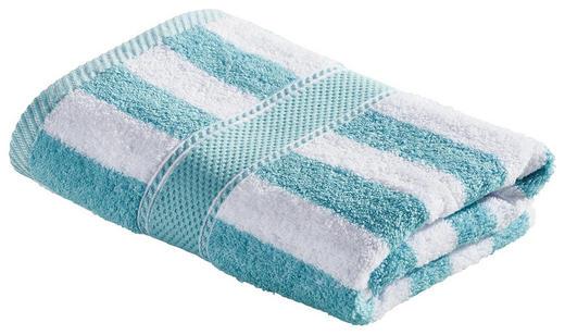 HANDTUCH 50/100 cm - Weiß/Mintgrün, KONVENTIONELL, Textil (50/100cm) - Esposa
