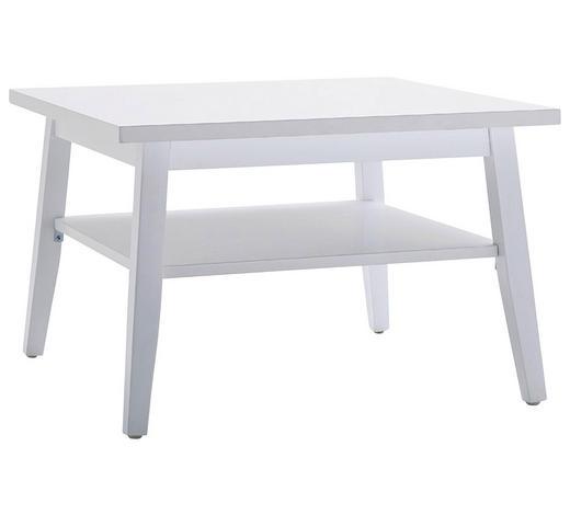 COUCHTISCH in Holz, Holzwerkstoff 70/70/45 cm - Weiß, Design, Holz/Holzwerkstoff (70/70/45cm) - Carryhome