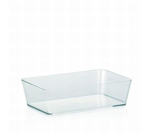 AUFBEWAHRUNGSBOX - Transparent, Basics, Kunststoff (22/6/14cm) - Kela