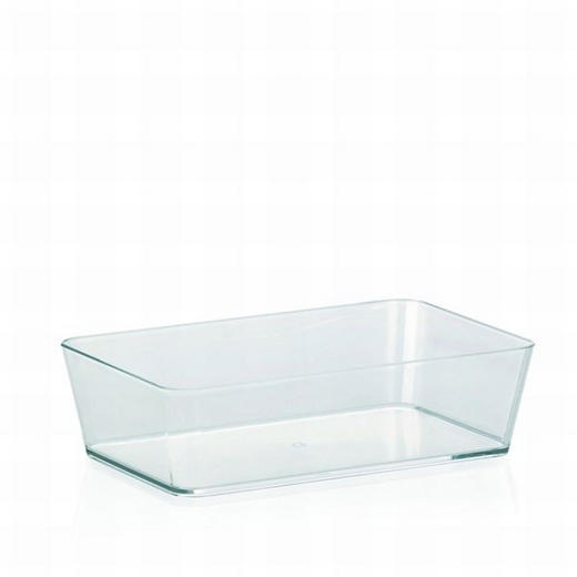 AUFBEWAHRUNGSBOX - Transparent, Basics, Kunststoff (22/6/14cm)