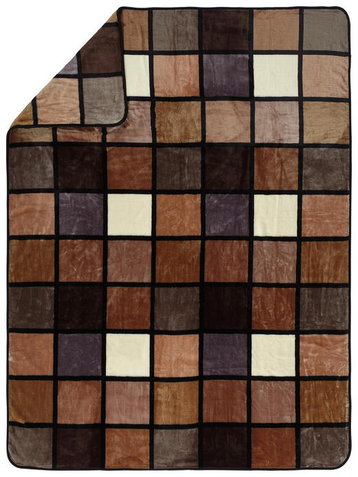 WOHNDECKE 150/200 cm Taupe - Taupe, Basics, Textil (150/200cm) - Novel