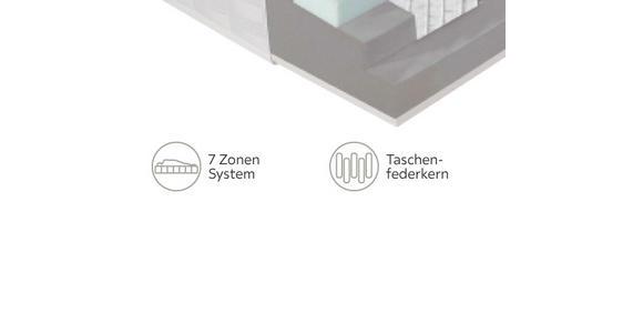 TASCHENFEDERKERNMATRATZE 80/200 cm  - Basics, Textil (80/200cm) - Dieter Knoll