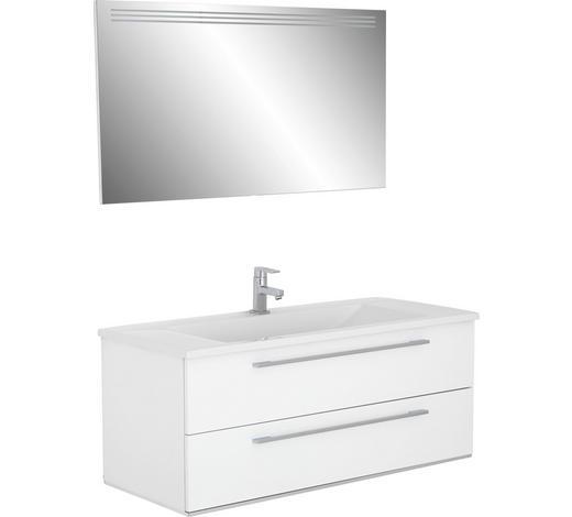 BADEZIMMER - Weiß, Design, Holzwerkstoff (120cm)