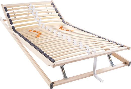 LATTENROST 90/200 cm - Birkefarben, Basics, Holz (90/200cm) - Hom`in