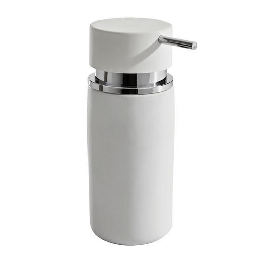 SEIFENSPENDER - Weiß, Basics, Keramik (6,5/16,5cm) - Kela