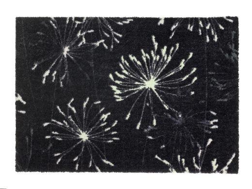 FUßMATTE 50/70 cm - Anthrazit/Mintgrün, KONVENTIONELL, Textil (50/70cm) - Schöner Wohnen
