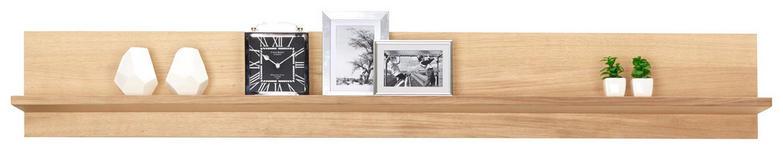 WANDBOARD in 180,0/25,6/22,0 cm Eichefarben - Eichefarben, KONVENTIONELL, Holzwerkstoff (180,0/25,6/22,0cm) - Voleo