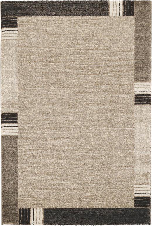 WEBTEPPICH - Beige/Braun, KONVENTIONELL, Textil (120/170cm) - Novel