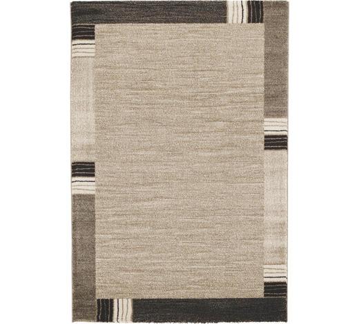WEBTEPPICH - Beige/Braun, KONVENTIONELL, Textil (140/200cm) - Novel