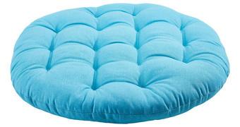 SEDEŽNA BLAZINA IBIZA - modra, Design, tekstil (40cm) - Boxxx