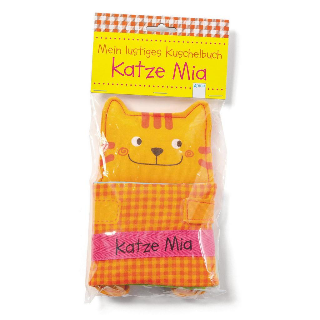 Kuschelbuch 'Katze Mia'