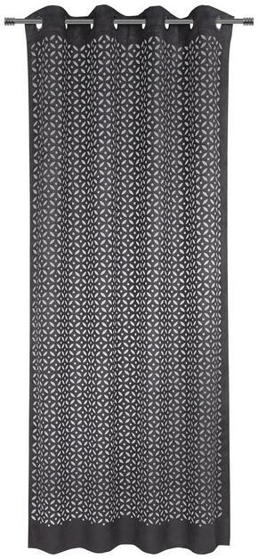 ÖLJETTLÄNGD - mörkgrå, Trend, textil (135/245cm) - Esposa