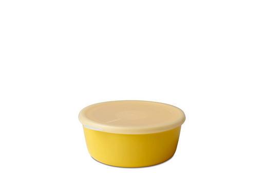 SCHALE Kunststoff - Klar/Gelb, Design, Kunststoff (13,3/12/5,5cm) - Mepal Rosti