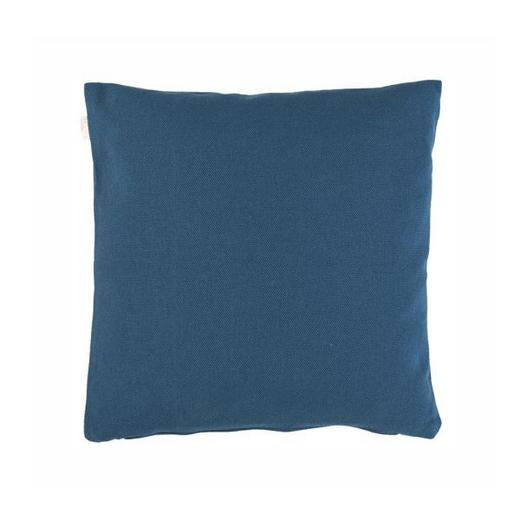 KISSENHÜLLE Dunkelblau 40/40 cm - Dunkelblau, Basics, Textil (40/40cm) - LINUM