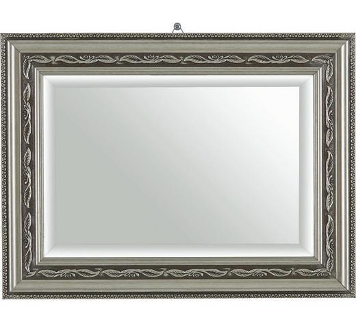 NÁSTĚNNÉ ZRCADLO, 30/40/2,2 cm - barvy stříbra, Lifestyle, umělá hmota/sklo (30/40/2,2cm) - Landscape