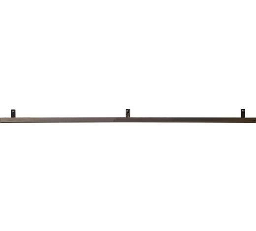 WANDBOARD in Grau - Grau, Design, Metall (120/2,5/7,5cm) - Ambia Home