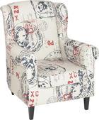 KŘESLO, Multicolor, textil - barvy wenge/Multicolor, Lifestyle, dřevo/textil (80/99/82cm) - CARRYHOME