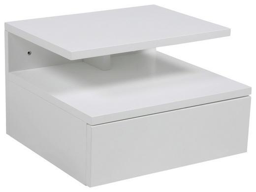 NACHTKÄSTCHEN lackiert Weiß - Weiß, Design (35/22,5/32cm) - Carryhome