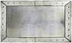SPIEGEL Silberfarben  - Silberfarben, LIFESTYLE, Glas (76/122/5cm) - Landscape
