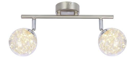 LED-STRAHLER - Klar, MODERN, Glas/Metall (30/10/19,5cm)