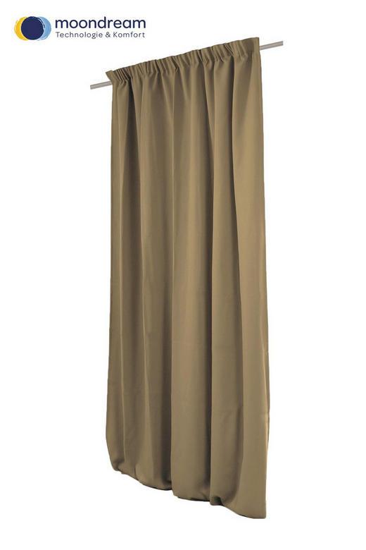 VERDUNKELUNGSVORHANG  Verdunkelung  145/260 cm - Braun, Textil (145/260cm)