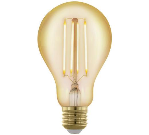 LED-LEUCHTMITTEL  E27 4 W  - Klar, Basics, Glas (13,3cm)