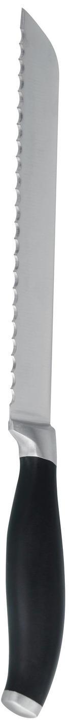NŮŽ NA PEČIVO - černá, Basics, kov (34cm) - Homeware