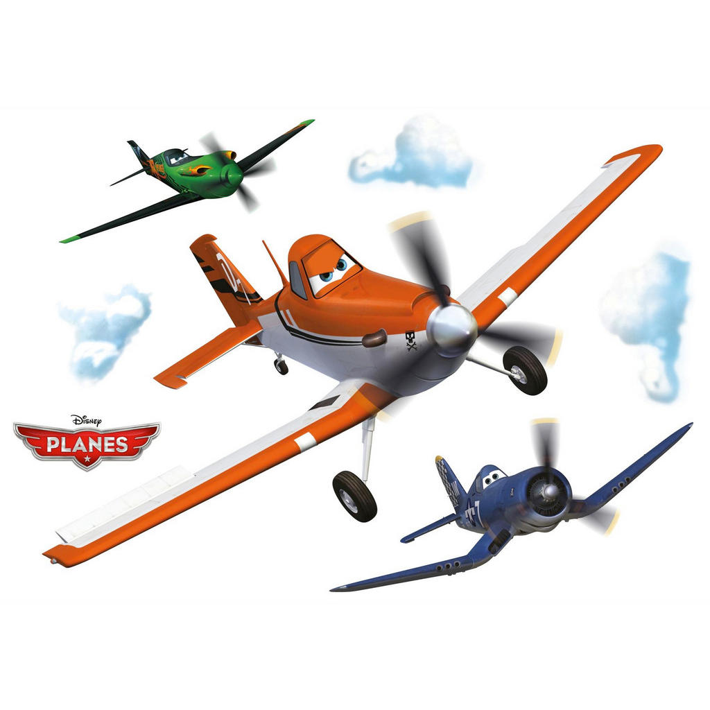 Wandtattoo 'Walt Disney Planes'