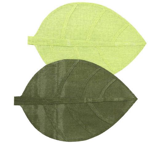 TISCHSET 33/50 cm Papier  - Grün, Natur, Papier (33/50cm)