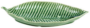 SERVERINGSBRICKA - grön, Natur, keramik (32,5/14,8/6,5cm) - Ambia Home