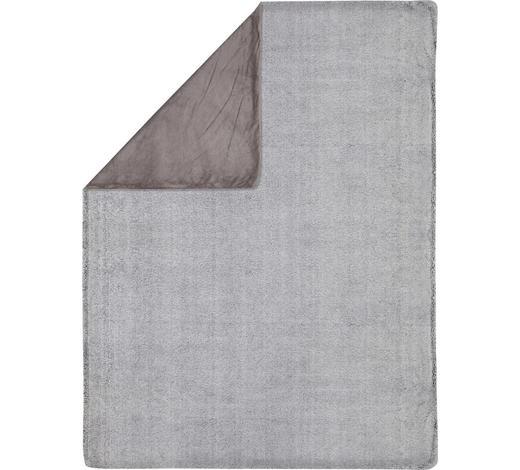 FELLDECKE 150/200 cm  - Grau, KONVENTIONELL, Textil (150/200cm) - Novel