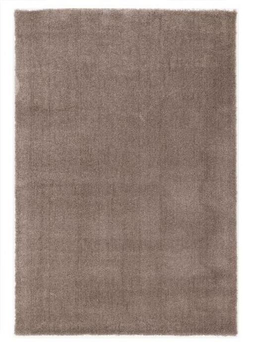 HOCHFLORTEPPICH  65/130 cm  gewebt  Hellbraun - Hellbraun, Basics, Textil (65/130cm) - Novel