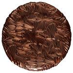 PLATZTELLER  21 cm  - Kupferfarben, Trend, Glas (21cm) - Ambia Home