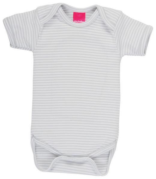BODY - Weiß/Grau, Basics, Textil (74/80null) - My Baby Lou