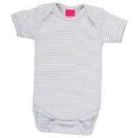 BODY - Weiß/Grau, Textil (86/92) - My Baby Lou