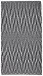 FLECKERLTEPPICH  70/115 cm  Schwarz, Weiß   - Schwarz/Weiß, MODERN, Textil (70/115cm) - Esposa